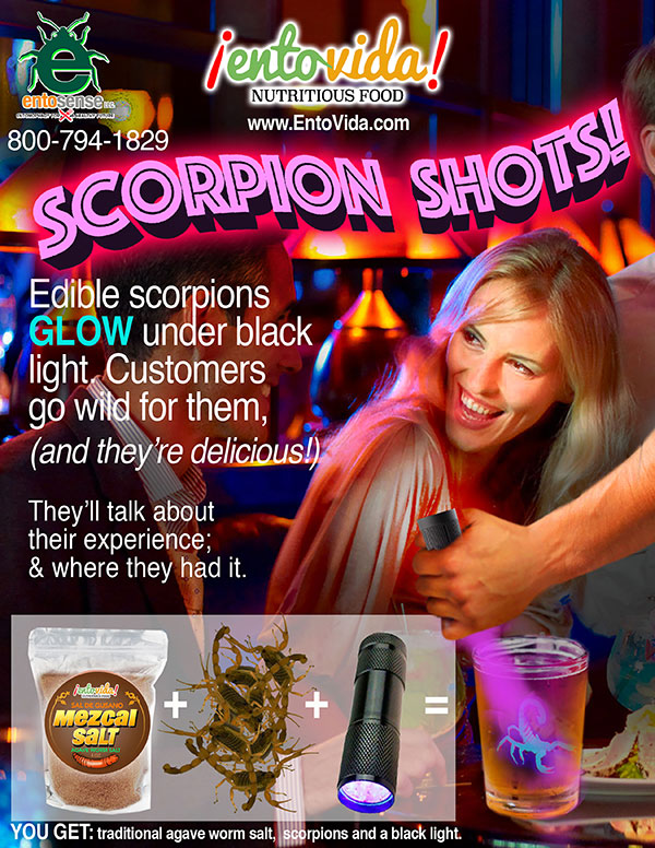 Scorpion Shots & Cocktails
