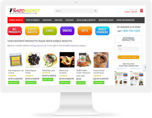 Edible Insects For Sale Online